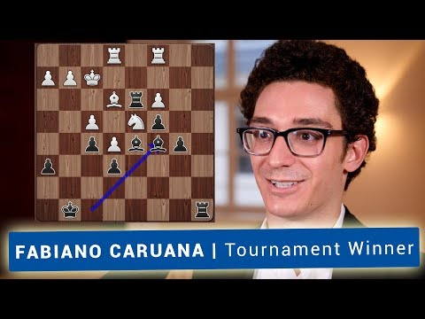 Fabiano Caruana | Winner of the GRENKE Chess Classic 2018