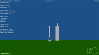 NROL-76 First Stage & Fairing Recovery Simulation