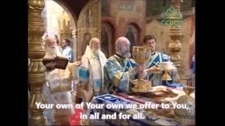 Orthodox Liturgy - Majestic Consecration - English