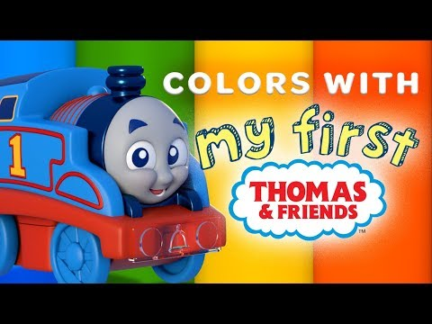 Learn Colors with Thomas My First Railways | Playing Around with Thomas & Friends