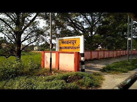 Bhagwanpur Railway Station in Vaishali, Bihar