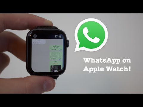 (NEW) WhatsApp For Your Apple Watch!