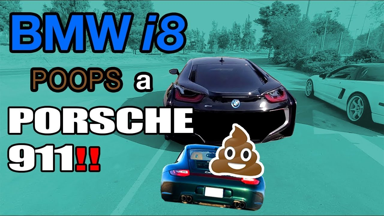 Did Bmw I8 Copy The Rear End Of A Porsche 911 Pooping Out A 911