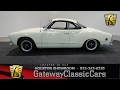 1968 Volkswagen Karmann Ghia Gateway Classic Cars #634 Houston Showroom