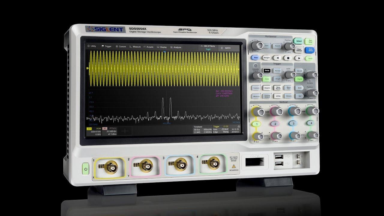 EEVblog #1220 – Siglent SDS5000X 1GHz Oscilloscope Review