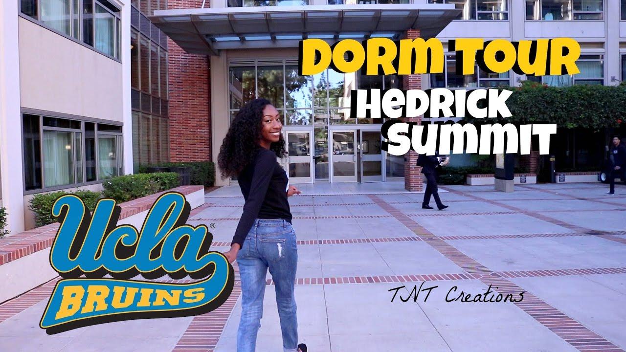 Ucla Dorm Tour Hedrick Summit Youtube
