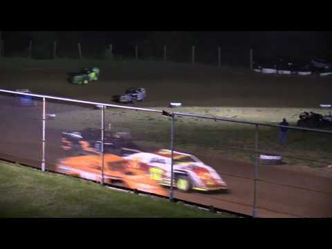 "Ohio Valley Speedway ""Gene Johnson Memorial"" Modified Feature 5-13-17"