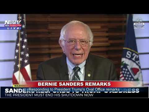 BERNIE SANDERS RESPONSE: Senator Speaks Following President Trump, Democrats (FNN)