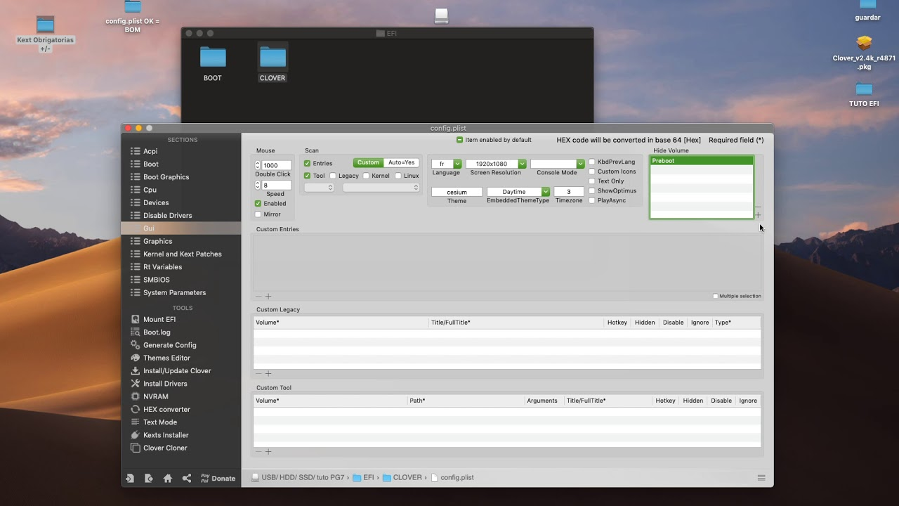 install bootloader Clover no Hackintosh