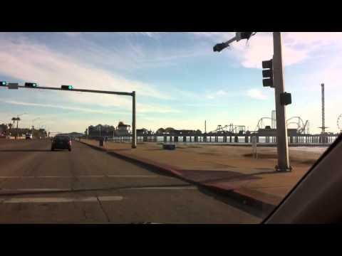 Seawall Galveston Texas
