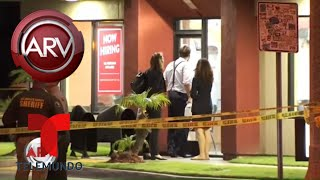 Hispano disparó mortalmente a un agente en la cabeza | Al Rojo Vivo | Telemundo