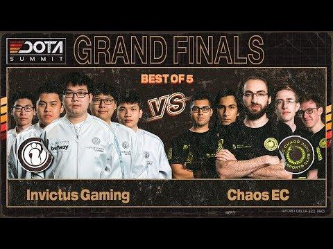Invictus Gaming vs Chaos Esports Club vod