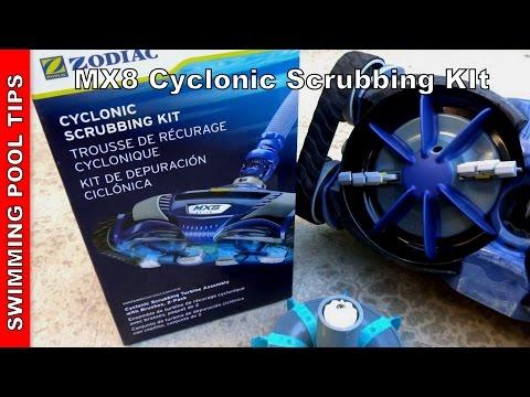 Cyclonic Scrubber Kit Zodiac MX8 MX6 AX10 Factory Tune Up Kit w