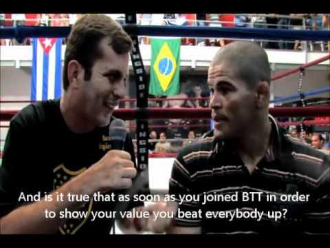 Rousimar Toquinho Palhares talks Drwal, Marquadt, leg lock and more. (HD)