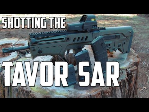 Shooting The Tavor SAR By Israel Weapon Industries