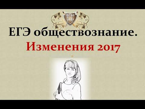 Видеоурок егэ обществознание 2017