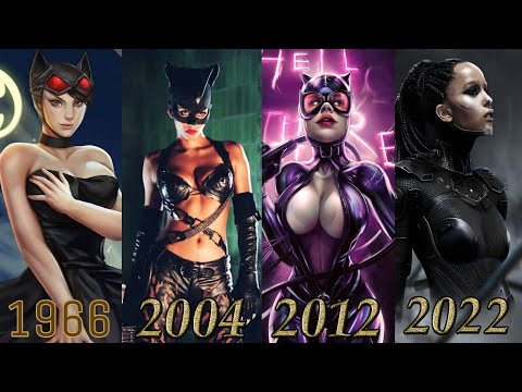 Download EVOLUTION of CATWOMAN in MOVIES & TV SERIES (Selina Kyle) 1966-2022 || BATMAN 2022 || Cat Woman 2004