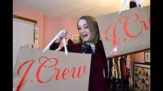 Massive J.Crew Haul! | Classically Contemporary