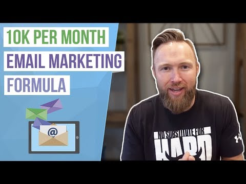 Email Marketing For Beginners ($10k Per Month Formula)