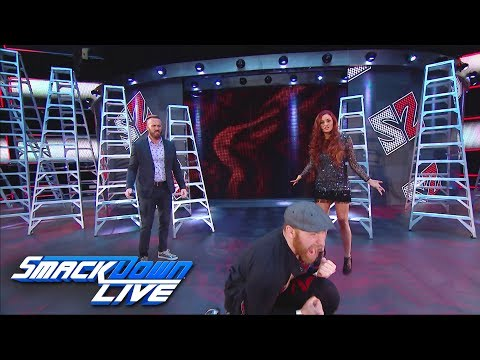 Is Sami Zayn embracing Mike & Maria's power of love?: SmackDown LIVE, June 27, 2017