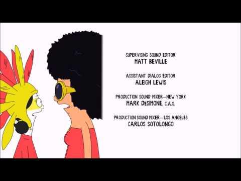 """Burgers and Fries"" - Bob's Burgers credits song, s05ep17"