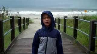 Atlantic Ocean in North Myrtle Beach After Hurricane Joaquin Sent 9 Inch of Rain