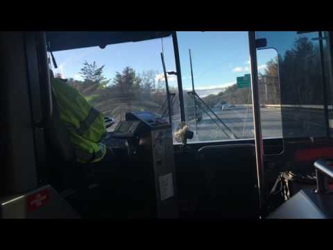 A Ride on MVRTA 2012 Gillig Advantage Low Floor #1204 Running the NECC Express Route (Route 56)