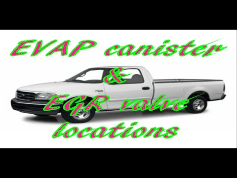 Ford F 150 Evap Canister And Egr Valve Location Youtube