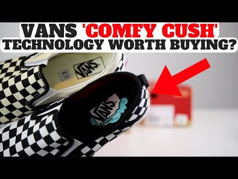 size 40 8e262 23209 Buy Vans Comfy Cush here http   bit.ly 2VM9p3i. After Wearing Vans Comfy  Cush Pros   Cons Review vs Regular slip ...