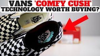 Vans Comfy Cush Pros \u0026 Cons Review