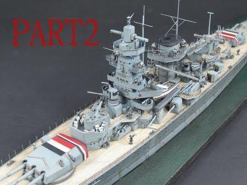 1/350 Admiral Graf Spee: Sea-Scape Part 2