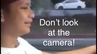 """""""Don't look at the camera, man!"""" [FILIPINO HUMOR]"""