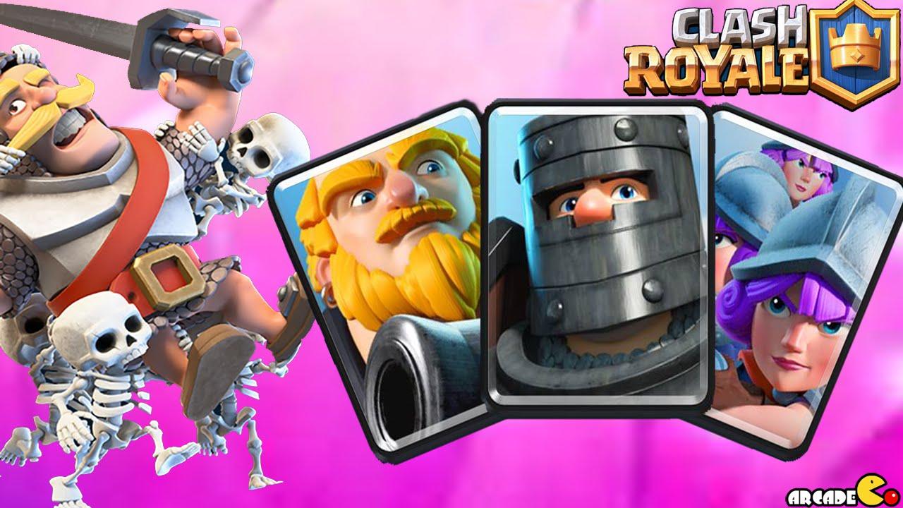 Clash royale intense battle arena 7 best deck youtube for Clash royal deck arene 7