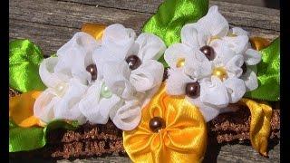 Nova tecnica de fazer Flores- Passo a Passo- fabric flowers por flor do jardim