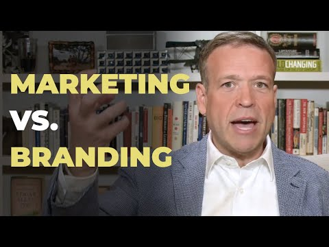 The Difference Between Marketing And Branding
