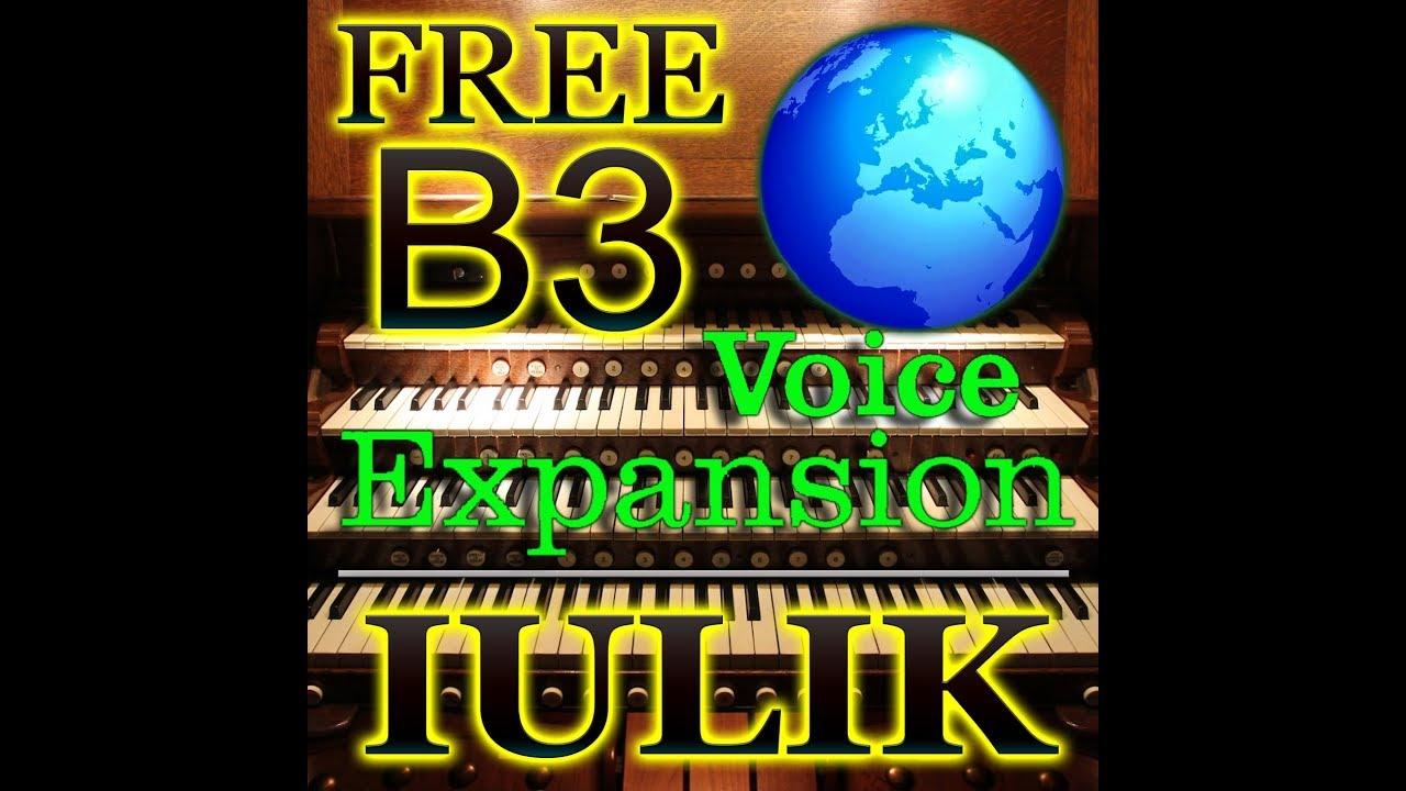 Download free pack organ B3 for Yamaha Tyros 5 & PSR www