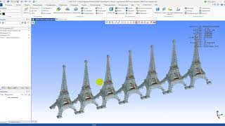Один МИЛЛИОН сто тысяч  компонентов в T-FLEX CAD на НОУТБУКЕ