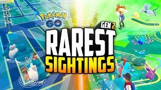 Pokemon Go - The TOP 10 LUCKIEST Pokemon Go Sightings! (INSANE Cluster Spawns!)