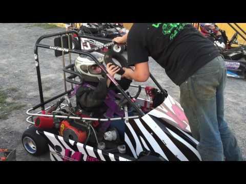 Cove Valley Speedway - go-kart racing action