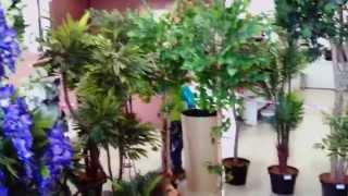 видео искусственные цветы в спб