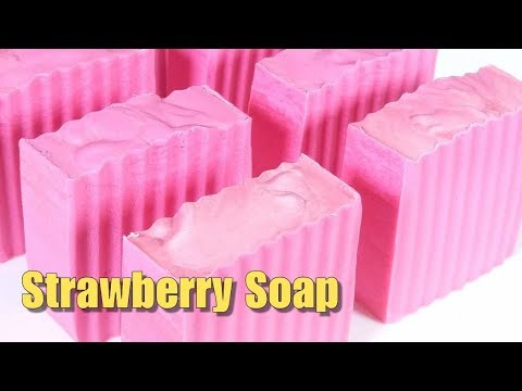 Strawberry Soap Demonstration