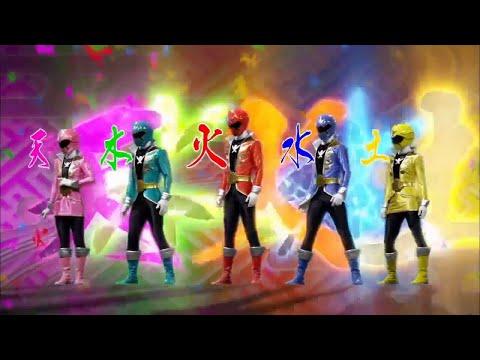 Power Ranger Super Megaforce | Todas las transformaciones en Ranger Legendario