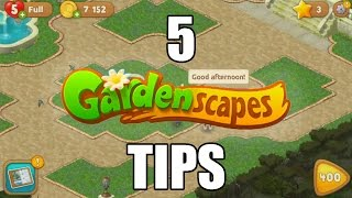 (See description first!) 5 Tips to Pass Gardenscapes levels