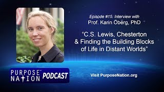 Podcast: Ep. #15: Catholic Astronomer Karin Öberg PhD – Signs of Life in Distant Worlds