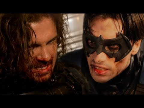 WINTER SOLDIER VS NIGHTWING - ALTERNATE ENDING - Super Power Beat Down