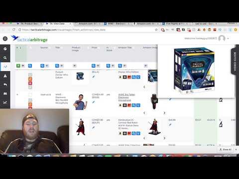 INSANE Amazon FBA Product Research Technique Using Tactical Arbitrage