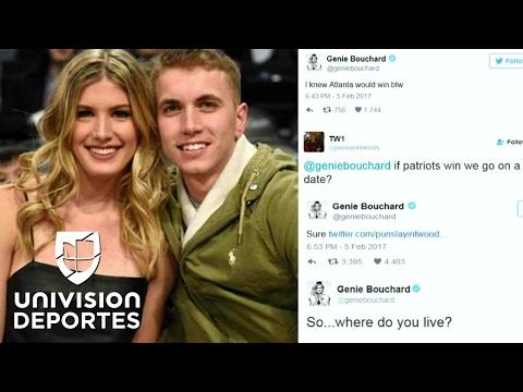 Cuento de hadas: un fan consiguió una cita con la bella Bouchard tras ganarle una apuesta