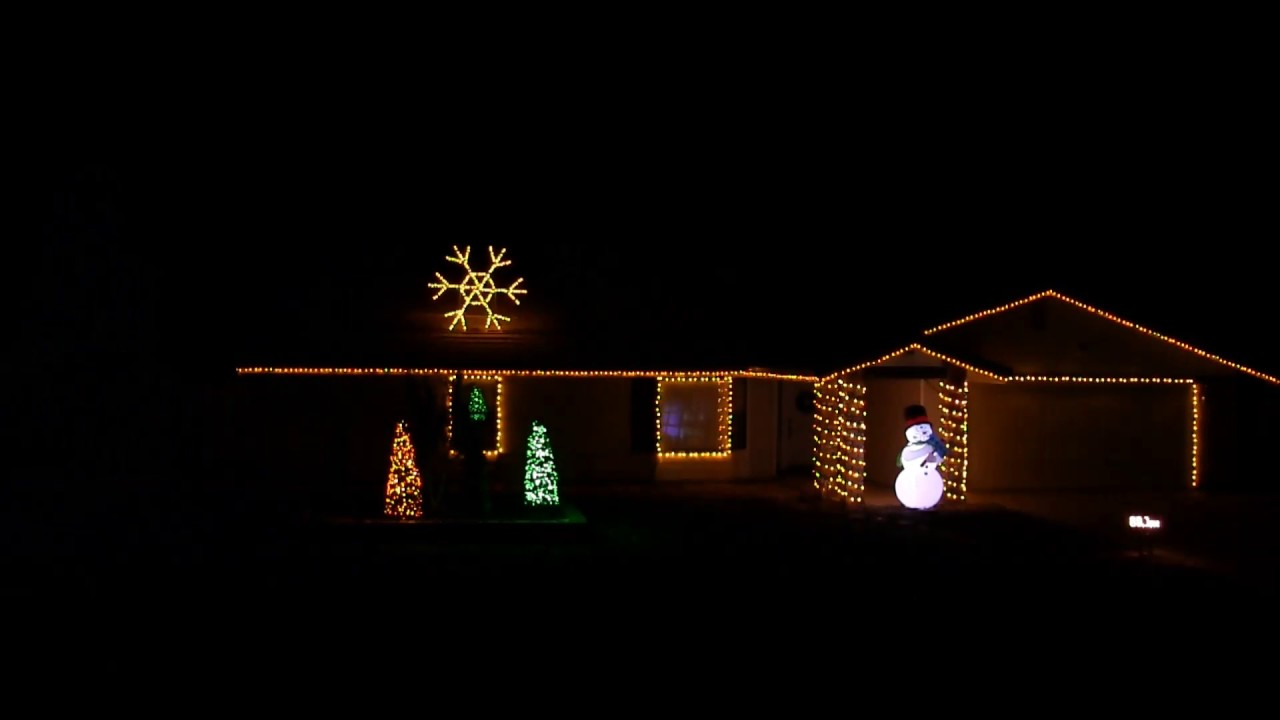 2016 christmas light show display thunderstruck by acdc - Dc Christmas Lights