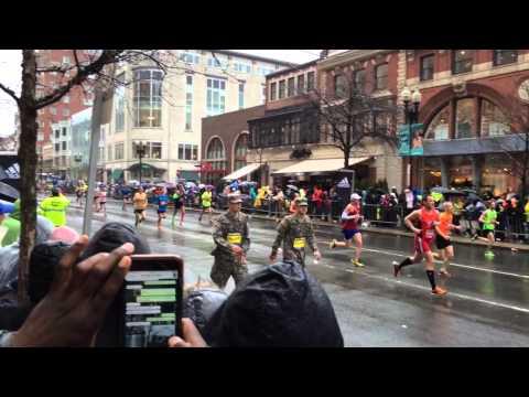 2015 Boston Marathon @Boylston Street