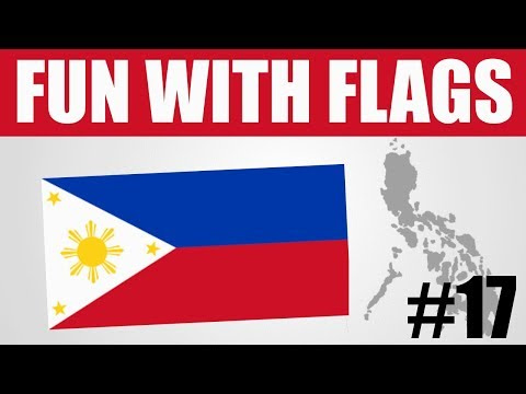 Fun With Flags #17 - Philippines Flag